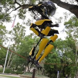 This Robot Walks, Flies, Skateboards