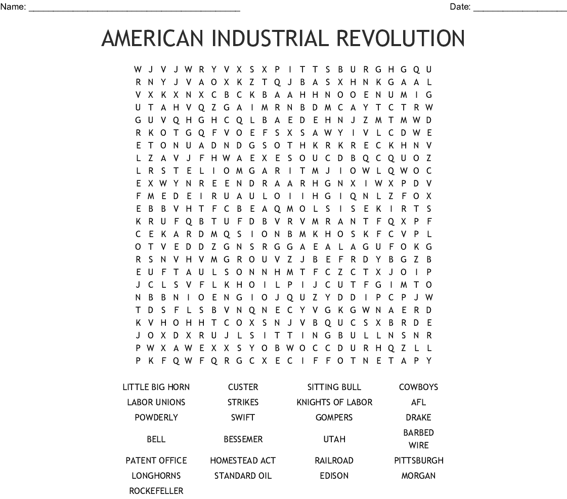 Big Business Word Search