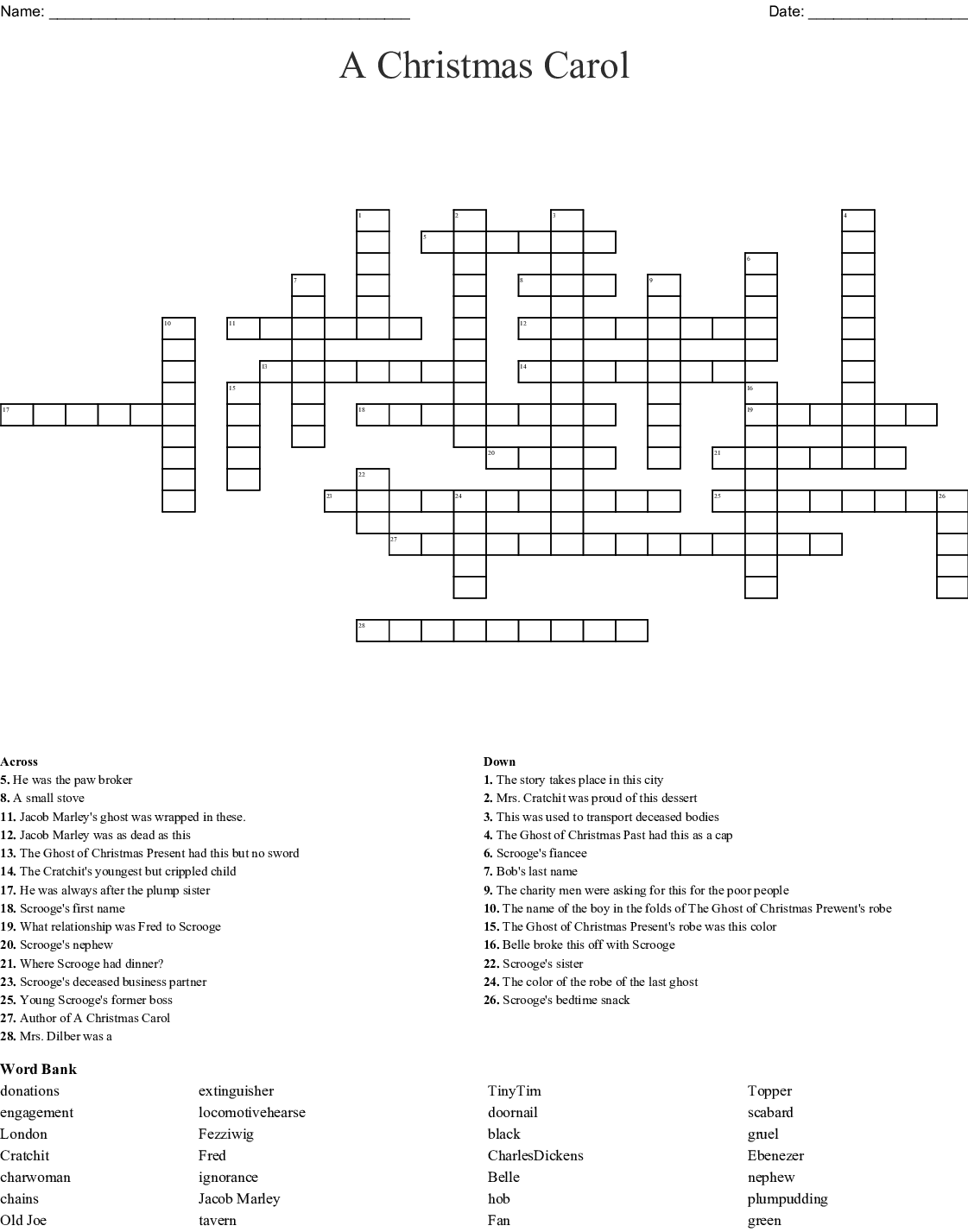 Stave 2 Word Search
