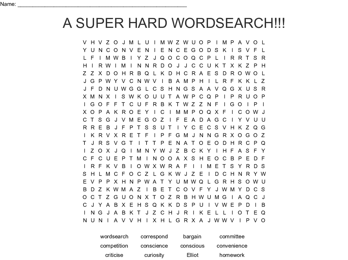 Year 5 And 6 Spellings Word Search