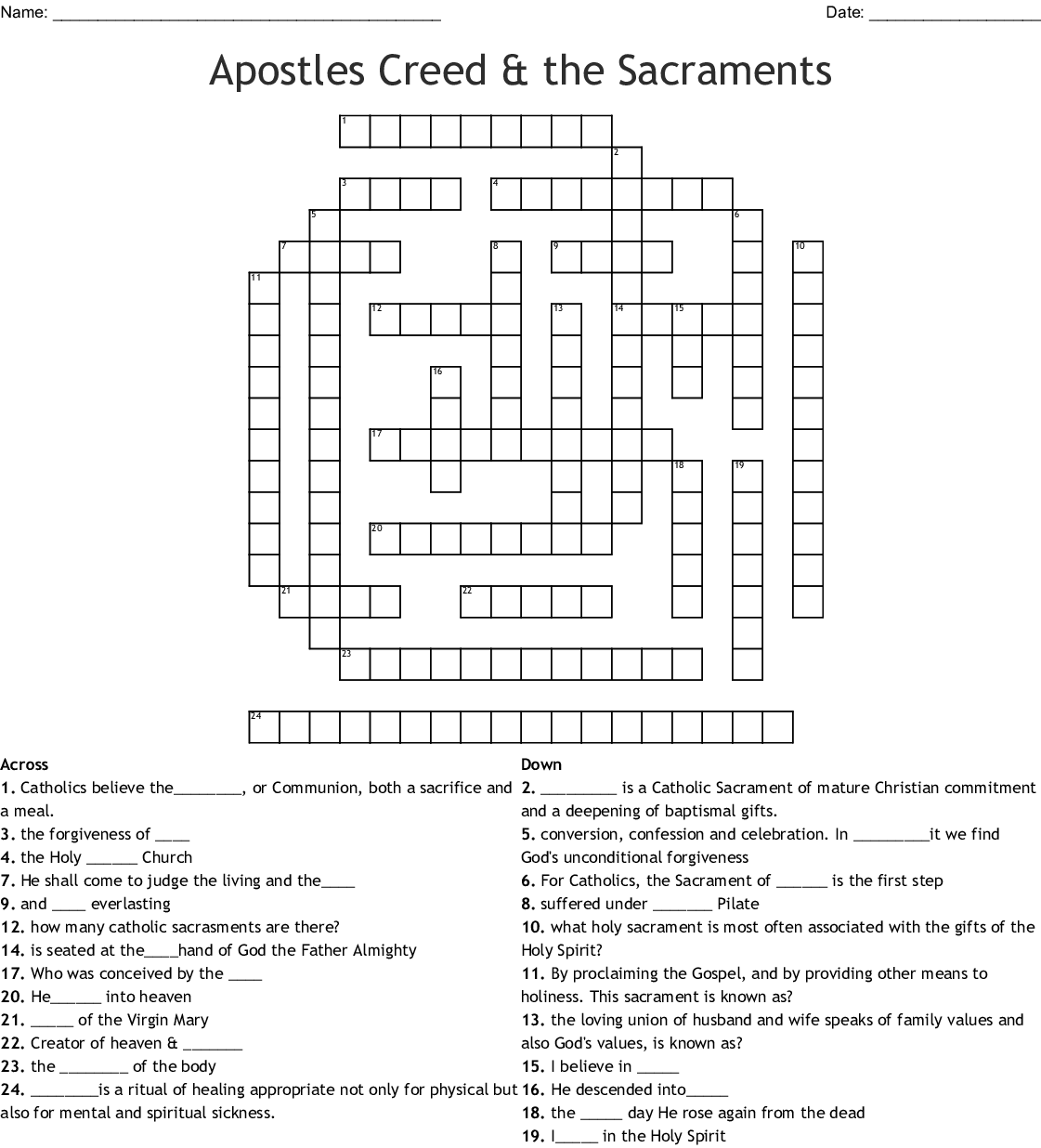 Romans 12 Word Search