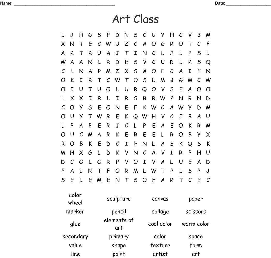 Sewing Terms Word Search Answers