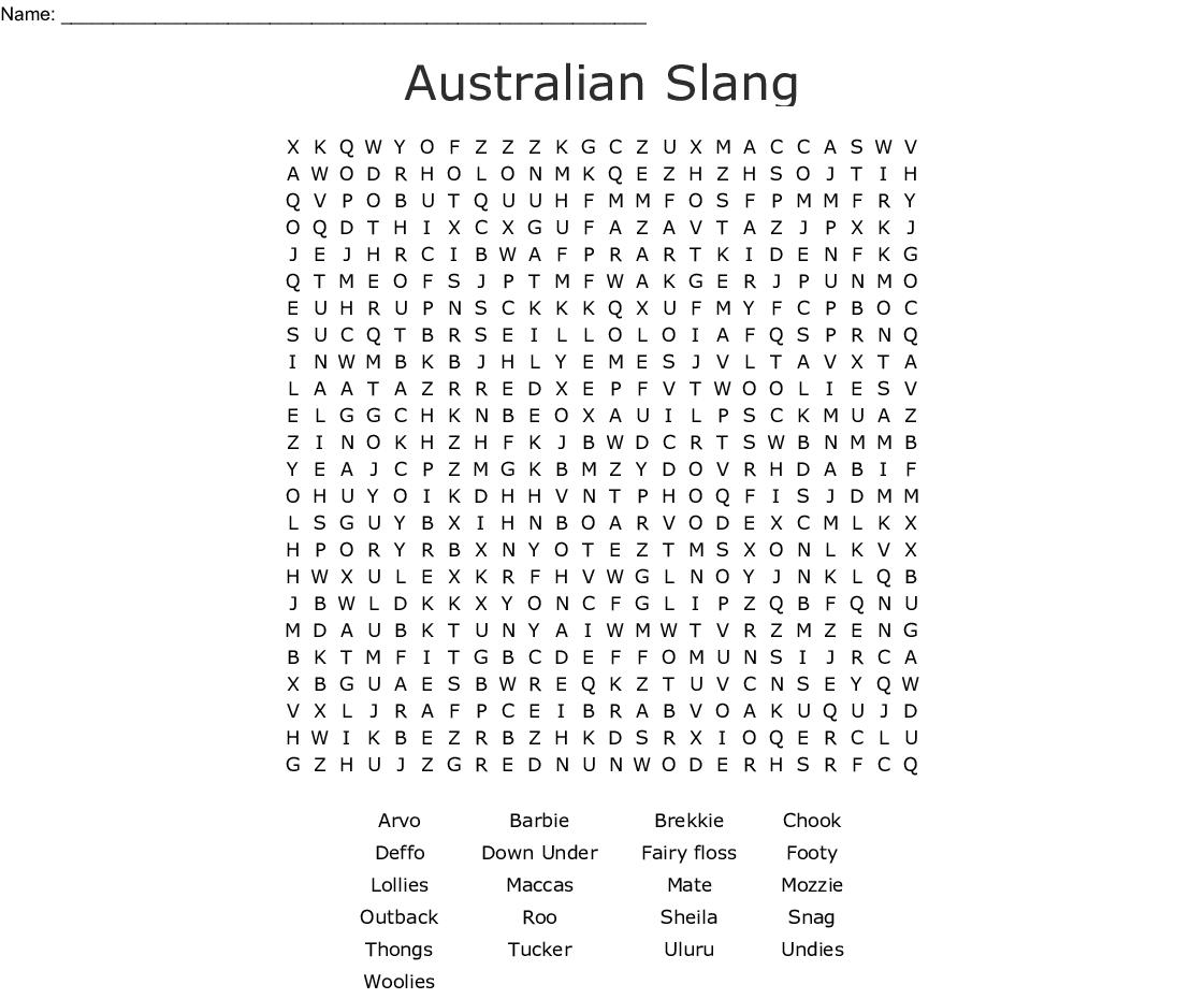 Australia Day Cunts Crossword