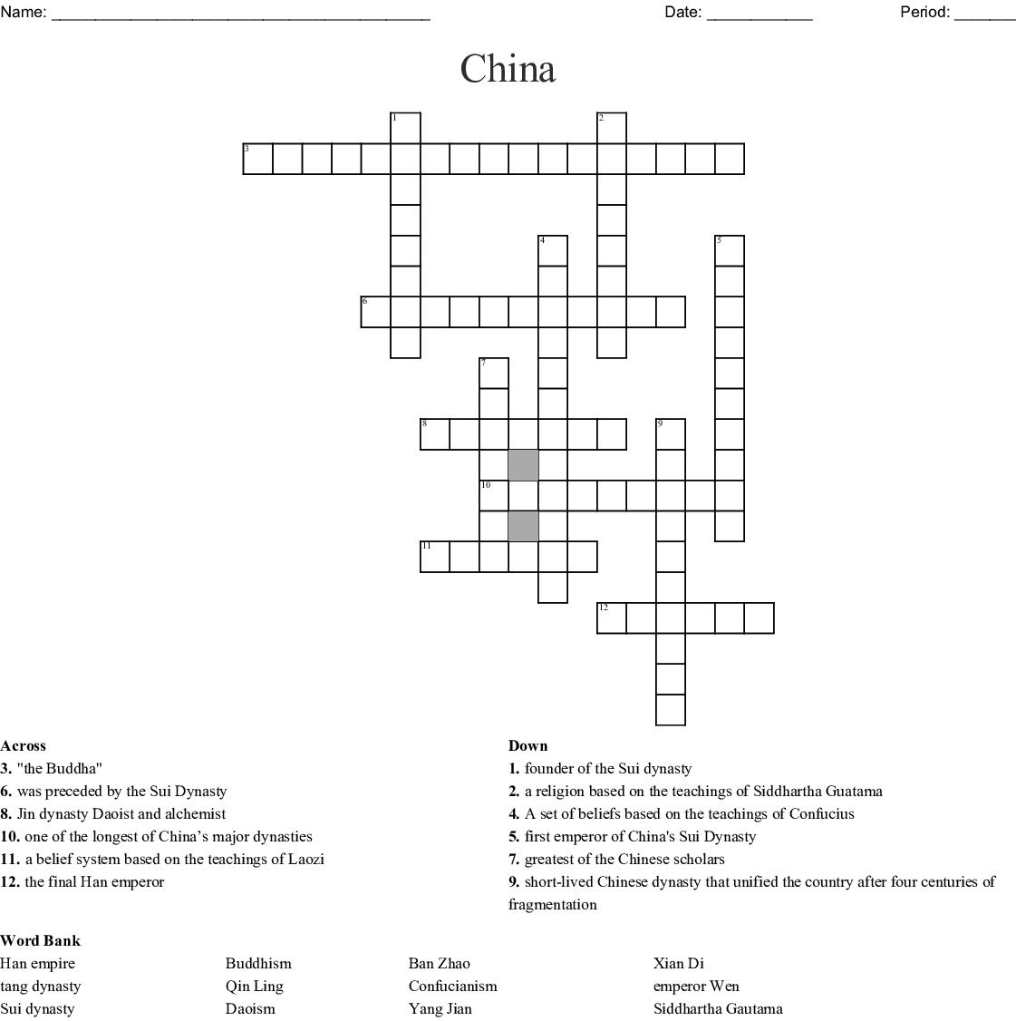 China Dynasties Of Power Worksheet Answers
