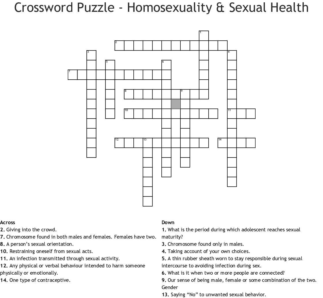 Ual Health Crossword