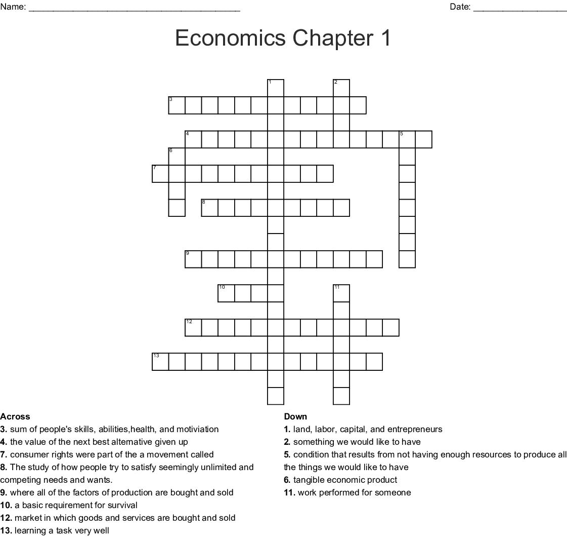 Icivics The Market Economy Worksheet Answers