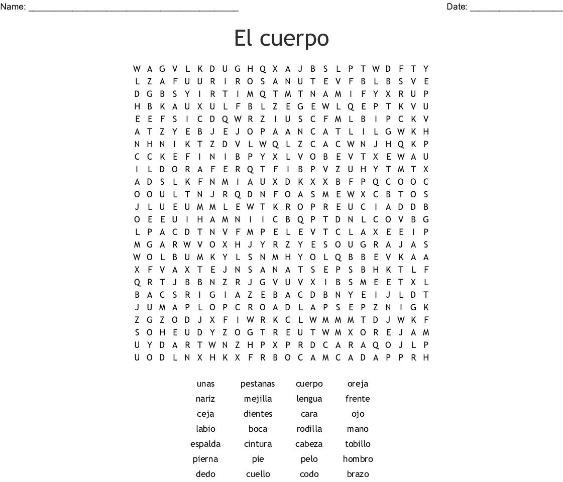 Unicorn Word Search