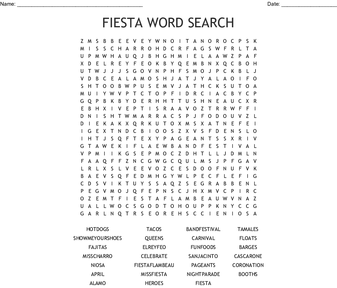 Izzy Word Search