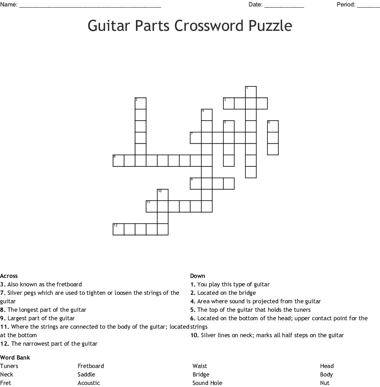 Parts Of Violin Worksheet