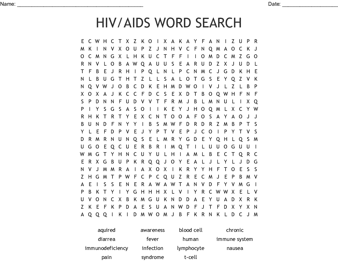 Acquired Hemophilia Word Search
