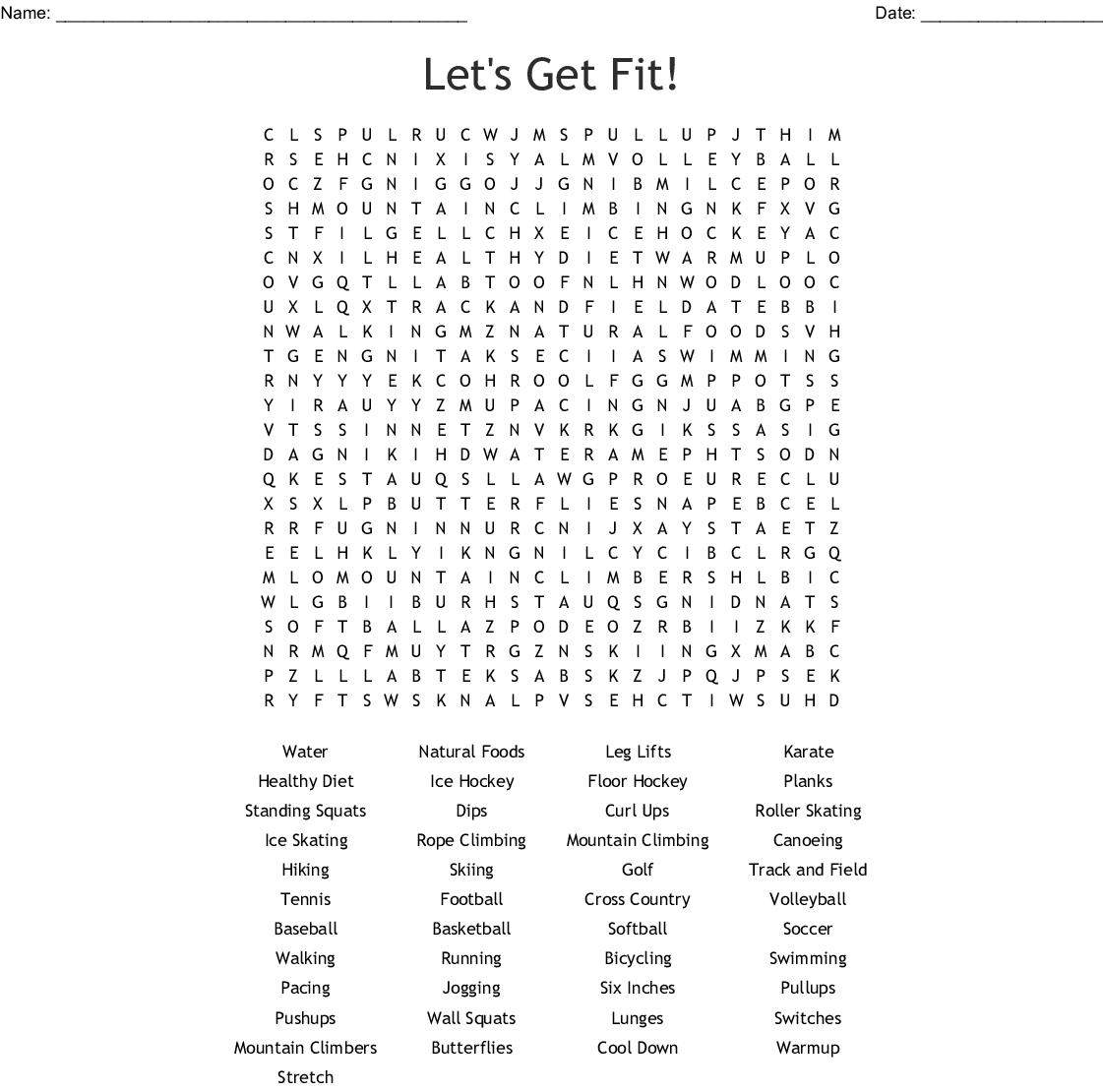 Grade 8 Word Search