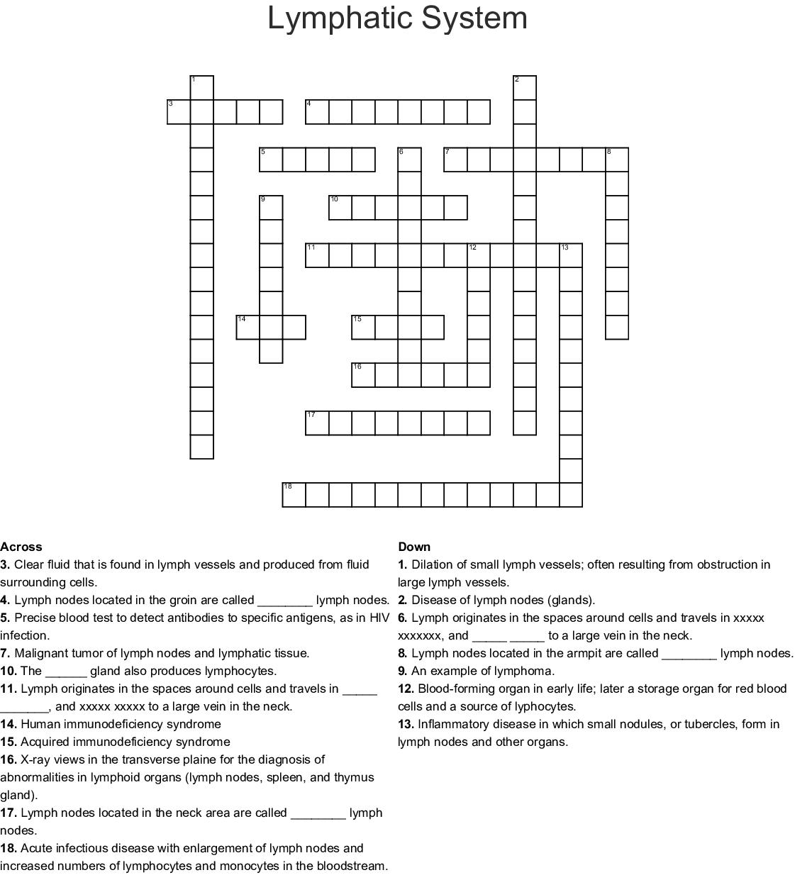 Christmas In July Crossword