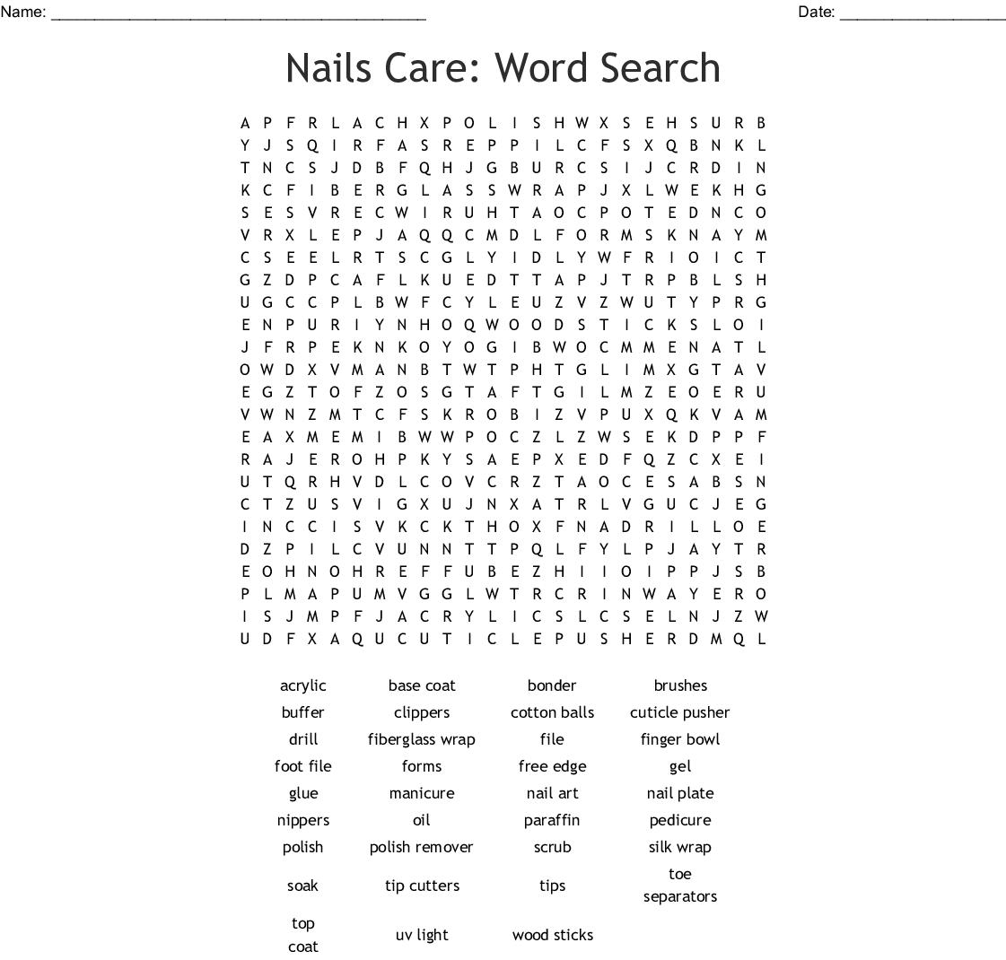 Polish Word Search