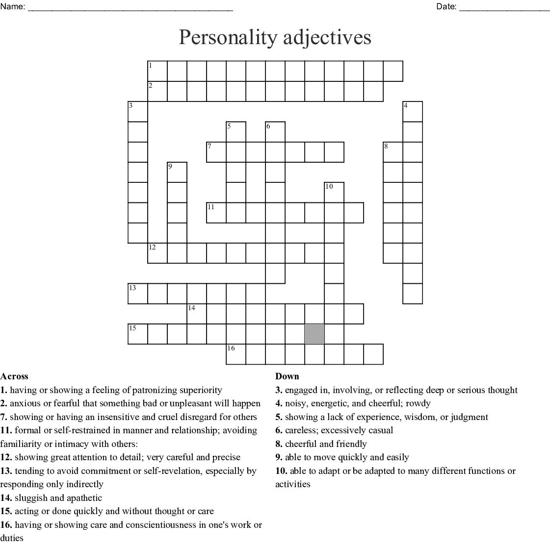 Top Floor Attic Room Crossword Clue