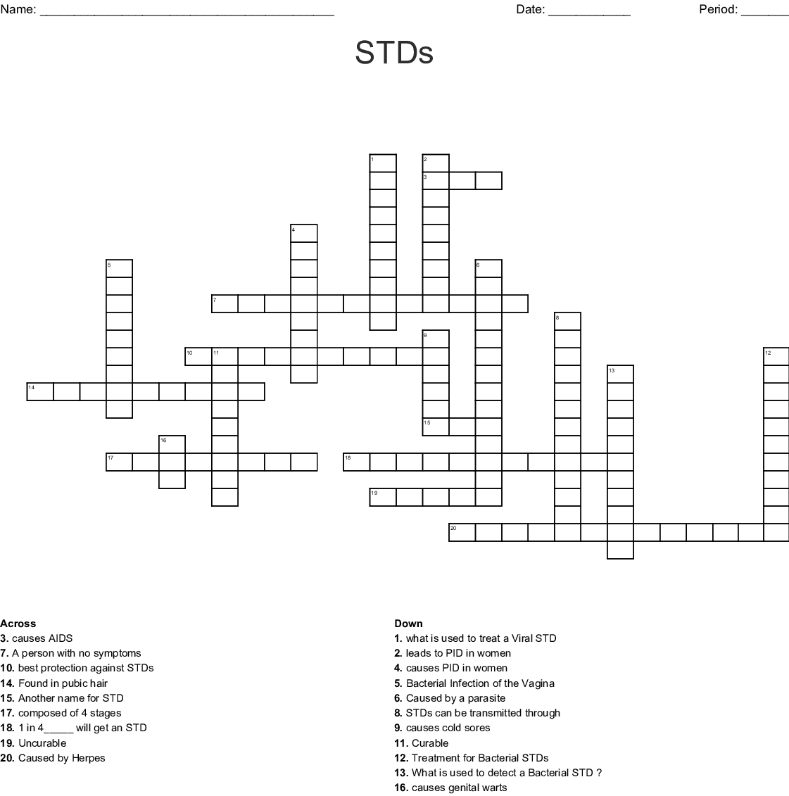 Ual Health Word Search