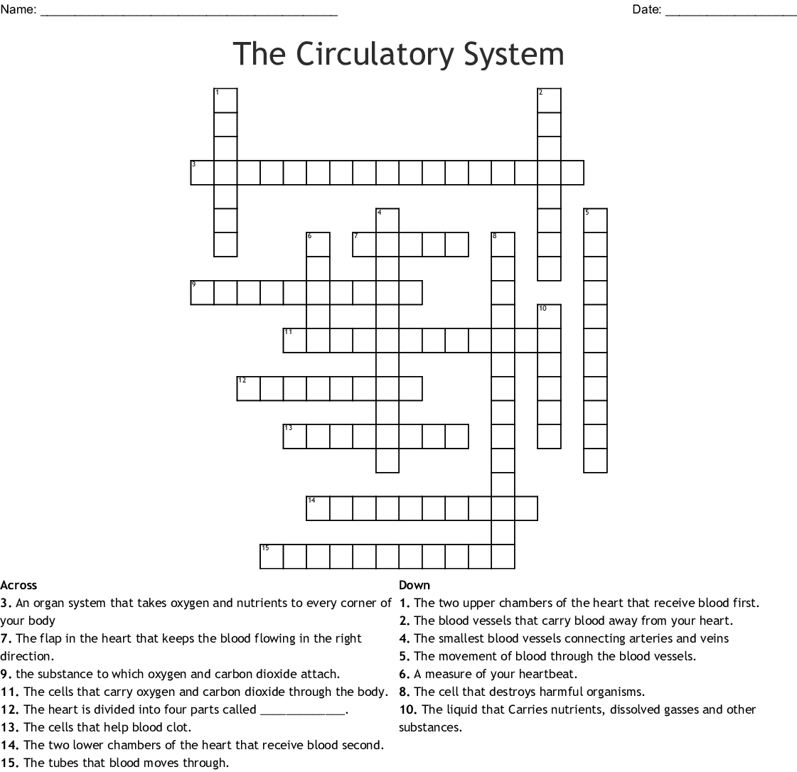Laboratory Medicine Crossword