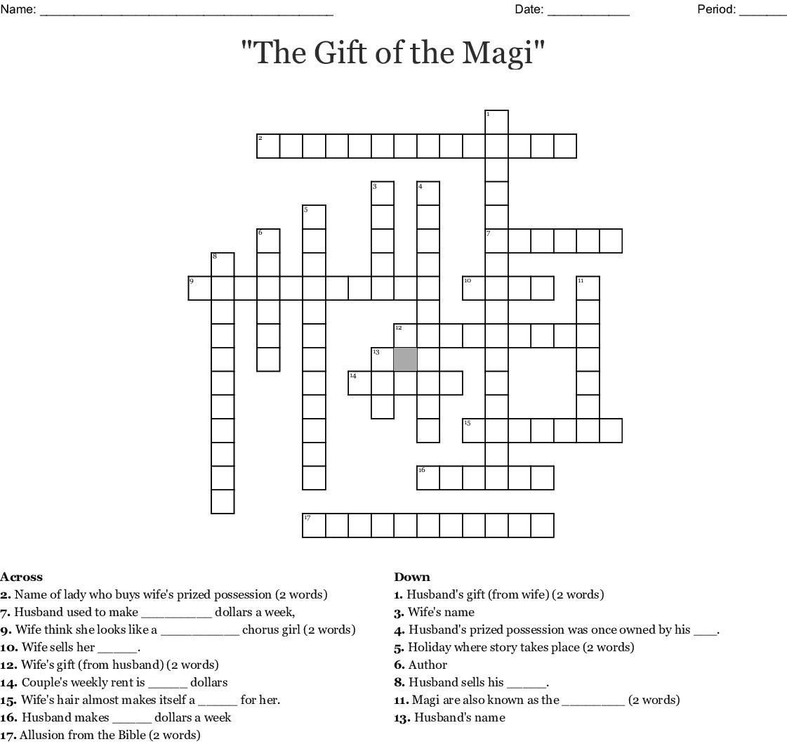Worksheet T Magi