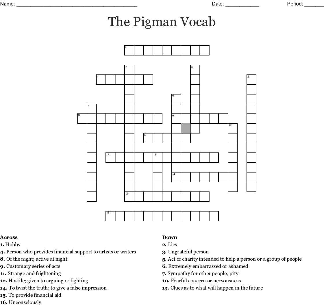 12 Angry Men Crossword