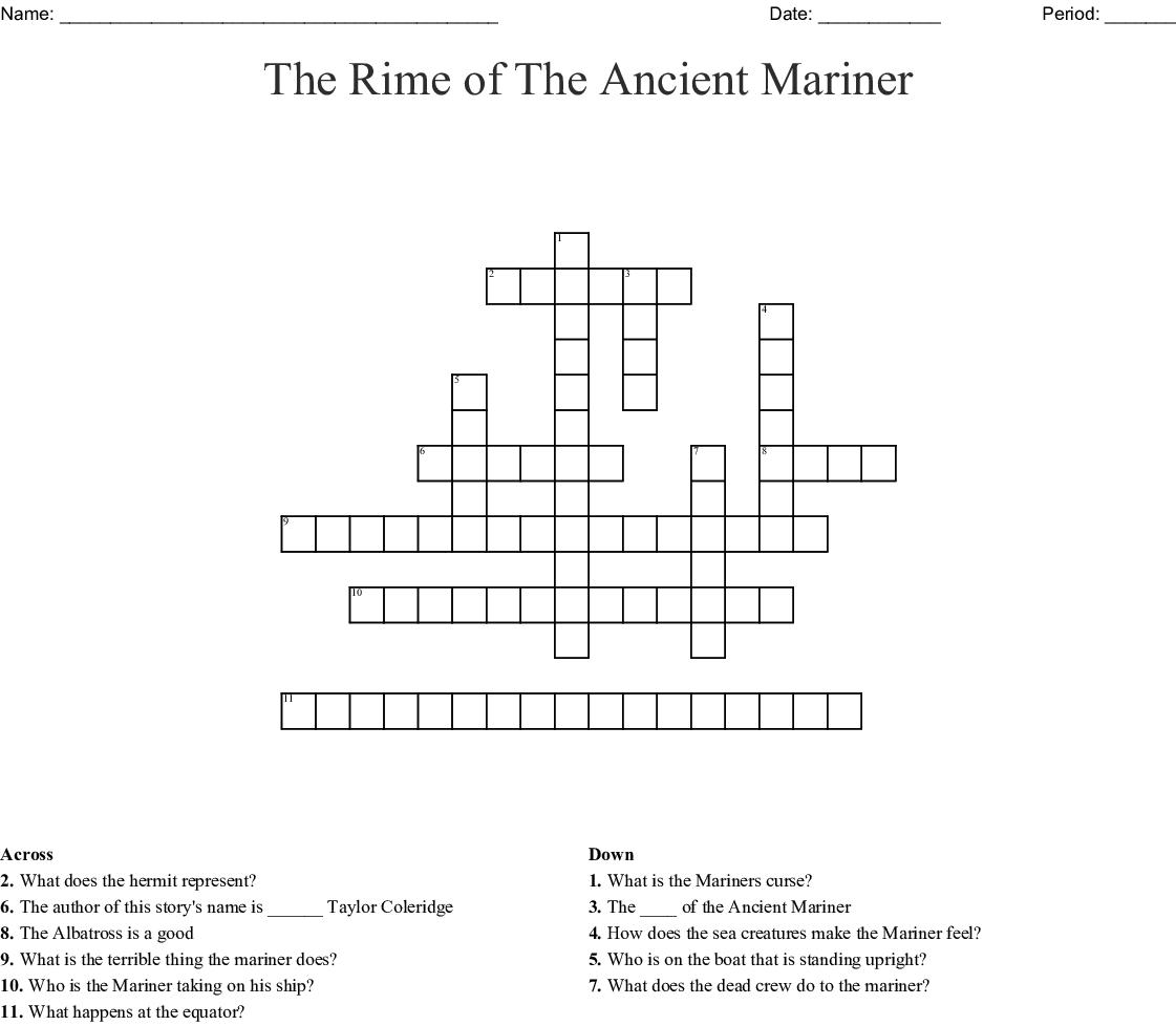 By Scrabble Crossword