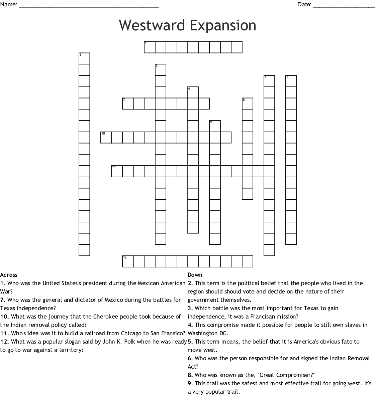 The Oregon Trail Worksheet