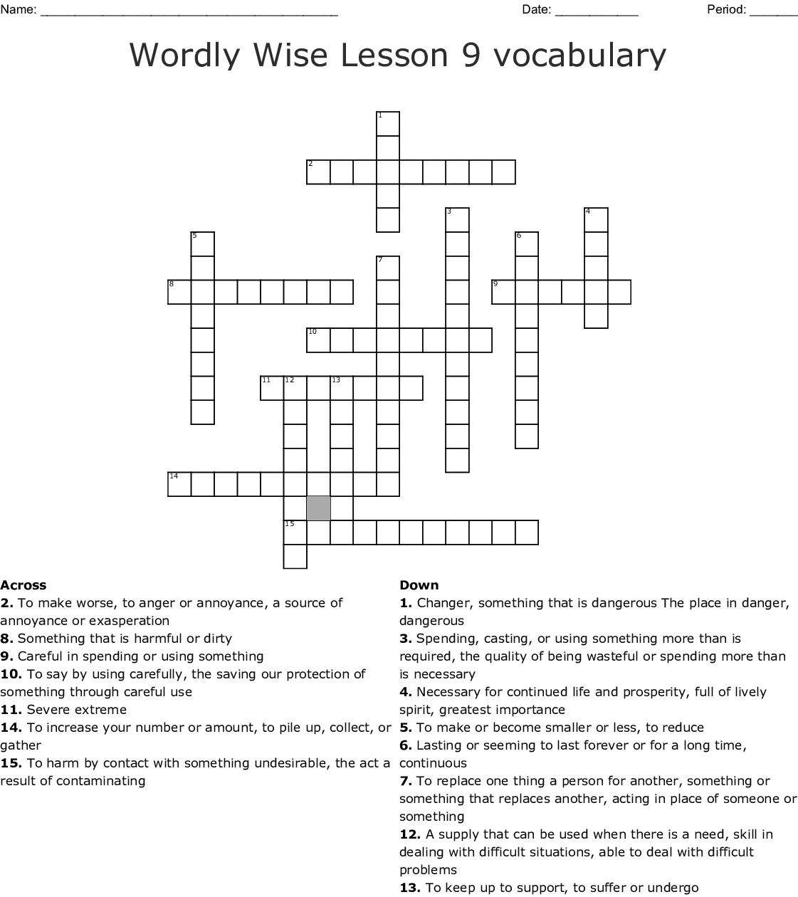 Similar To Ww3k9 Crossword