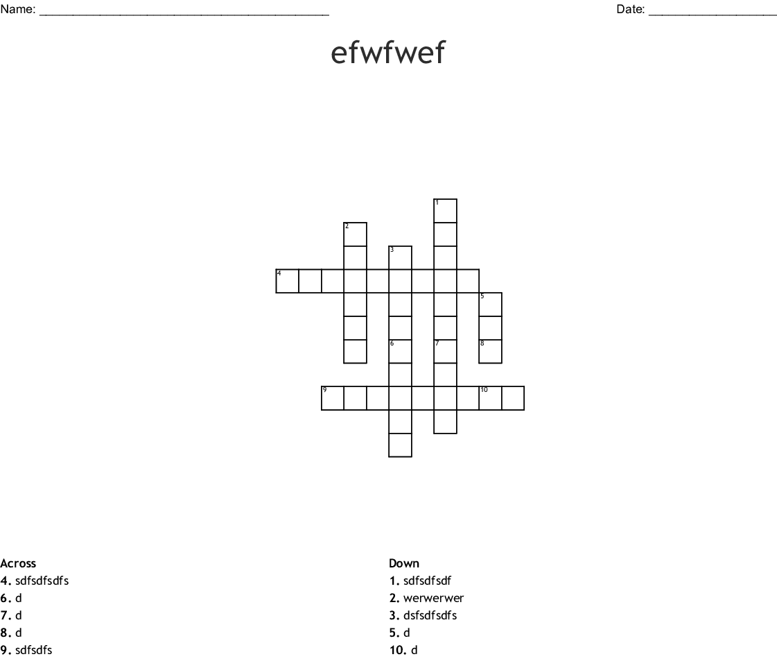 Worksheet Word Scramble