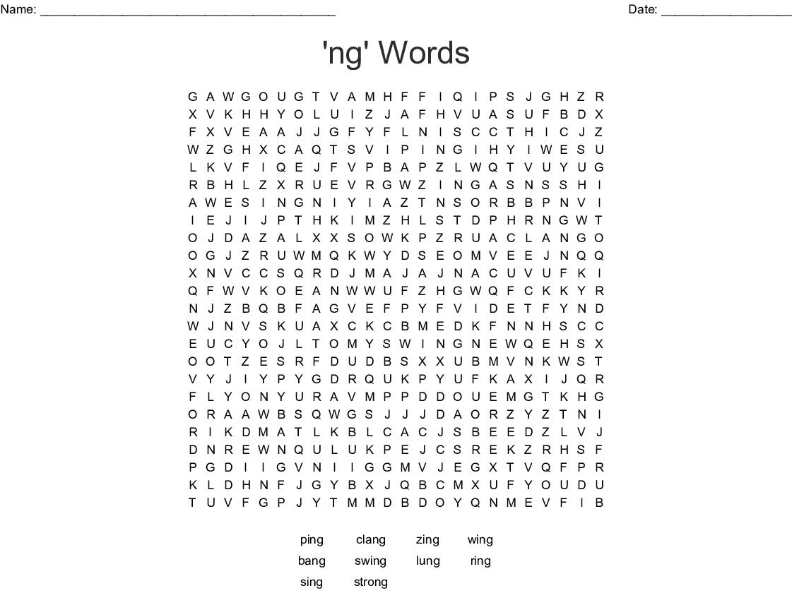 Ng Words