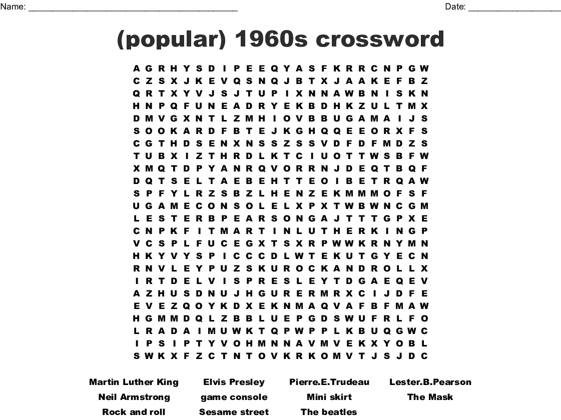 Martin Luther King Word Search Printable That Are
