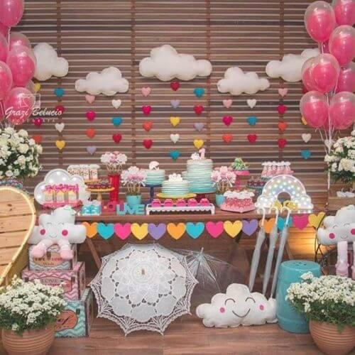 Como decorar um quarto para uma foto de aniversário 22