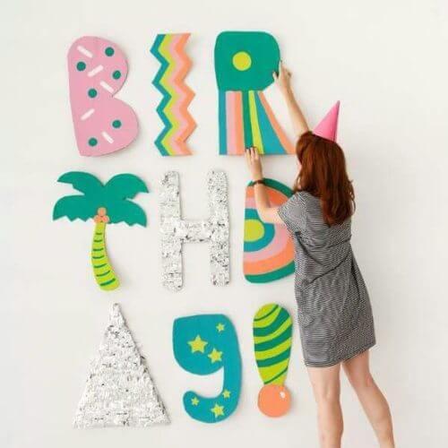 Como decorar um quarto para uma foto de aniversário 28