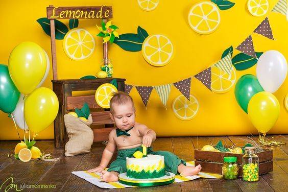 Оформление день рождения 1 год своими руками фото 37