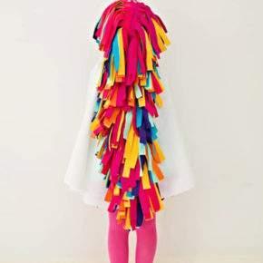 Kostum untuk gadis tahun baru melakukannya sendiri foto 48