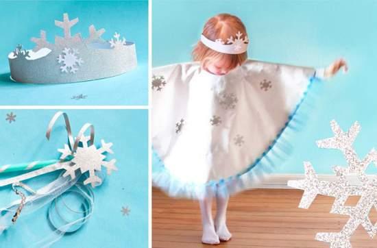Жаңа жылдық костюм Snownlakes 33 фотосы