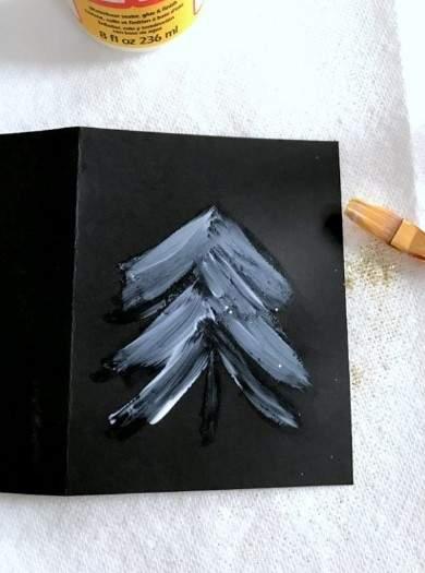 چگونه می توان یک عکس کارت پستال سال نو را 057 بسازید