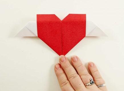 сердце из бумаги своими руками фото 018