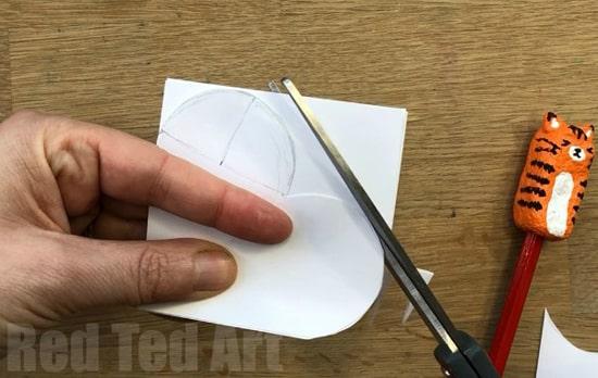 как сделать объемное сердце из бумаги фото 023