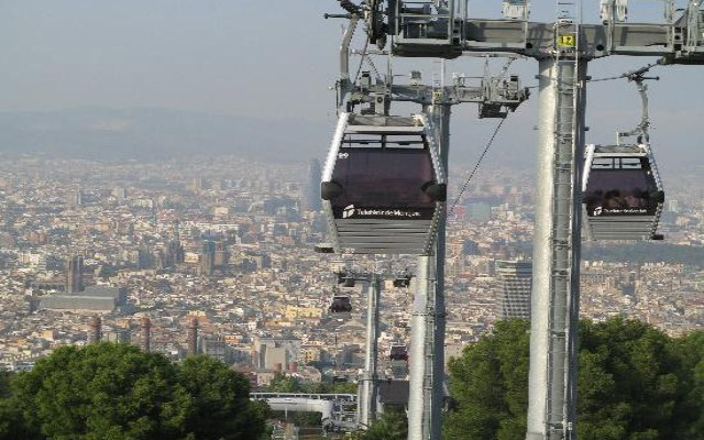 montjuic cable car barcelona