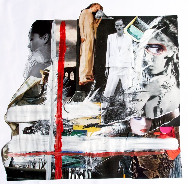 Style Tomes Fall 2015 Fashion Collage Art