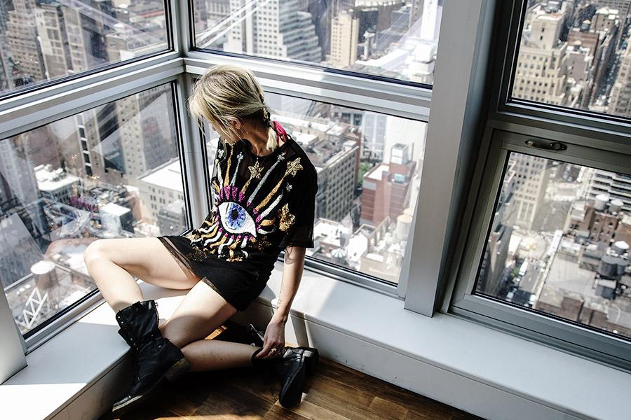 Sequin Love: Discount Universe Blogger Style