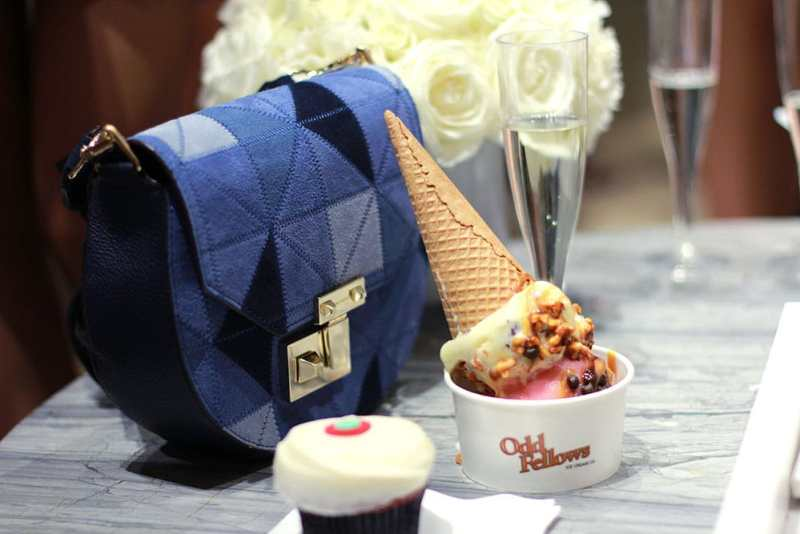 Rebecca Minkoff NYC Style Collective event with Oddfellows Ice Cream