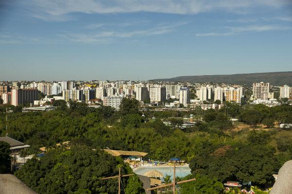 Vista de Caldas Novas (Foto: Adilson Zavarize)