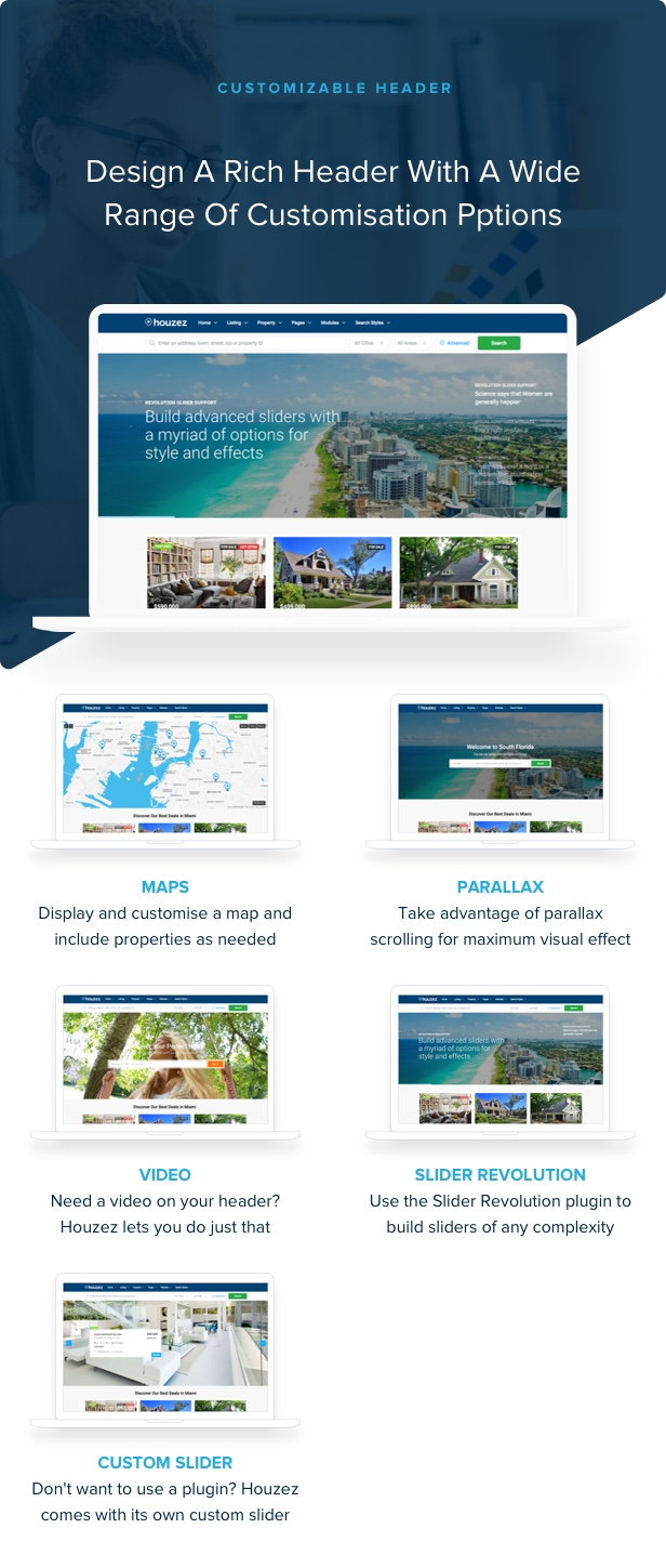 Houzez - Real Estate WordPress Theme - 21