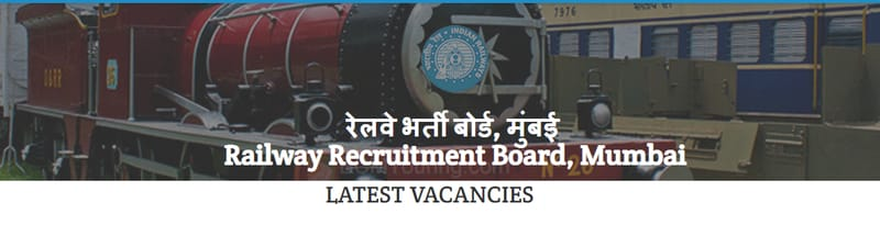 rrb mumbai latest vacancies