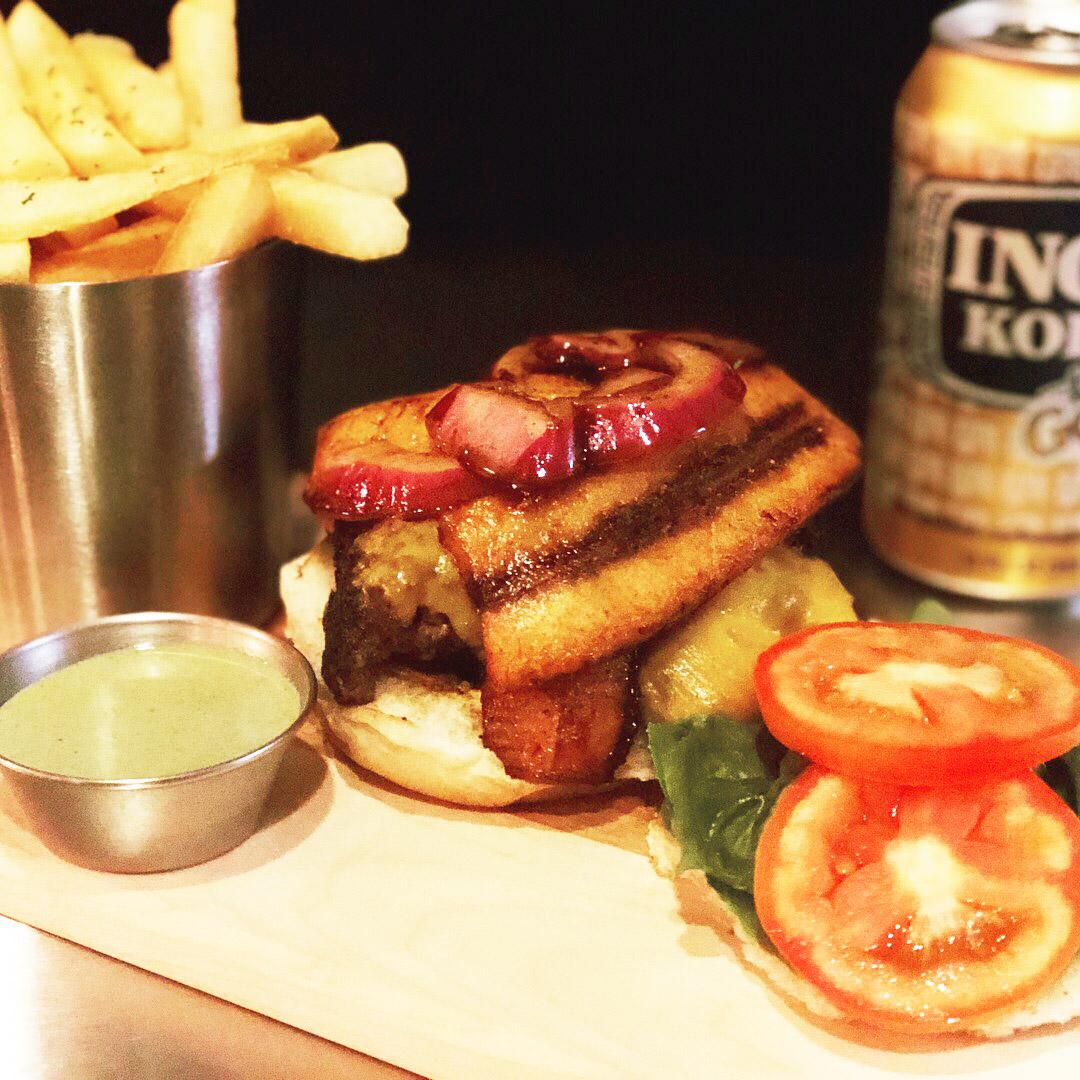 Hamburger with plantains reno nevada