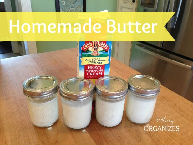 Homemade Butter is Easy