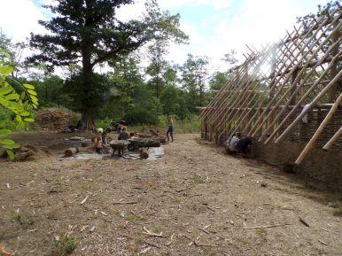 vue générale du chantier