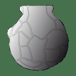 un puzzle néolithique à partir de fragments de poteries