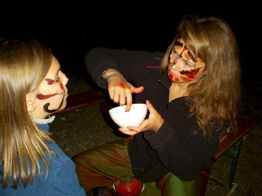 maquillages préhistoriques