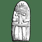 Fabrication d'une statuette gravée en pierre tendre