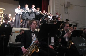Jazz Band at Spring Concert 2015
